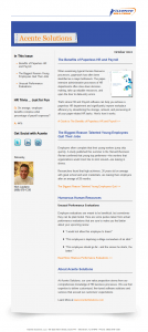 Acente Solutions - AcenteWire Newsletter
